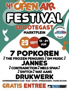 Open Air festival Grootegast 4EverFun